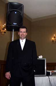 Pete Howard, RPM Sound disc jockey wedding specialist